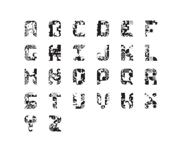 Exercice de typographie modulaire