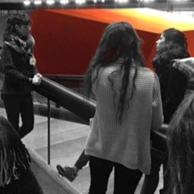 Visite du FRAC Bretagne pour les étudiants IFFDEC