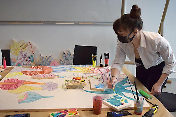 Forêts imaginaires : atelier scénographie pour les étudiants IFFDEC